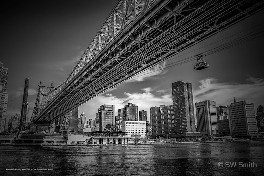 'Underneath The Ed Koch Queensboro Bridge | Roosevelt Island, New York'  by © Sophie W. Smith
