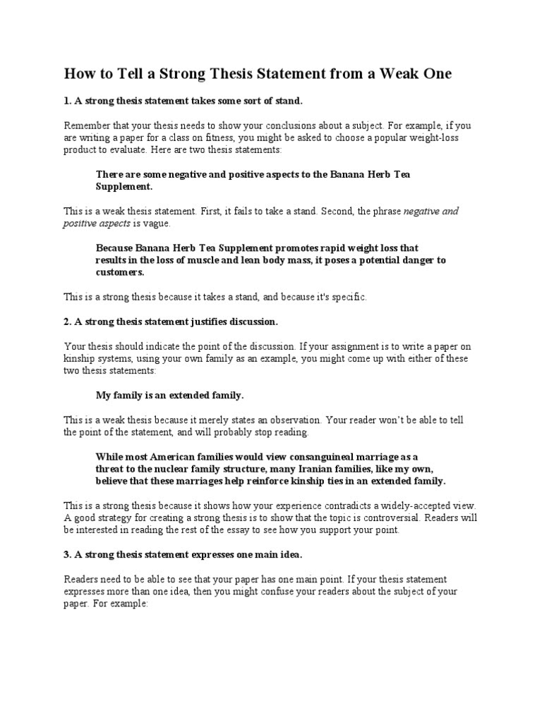 how to write a thesis statement 3 2