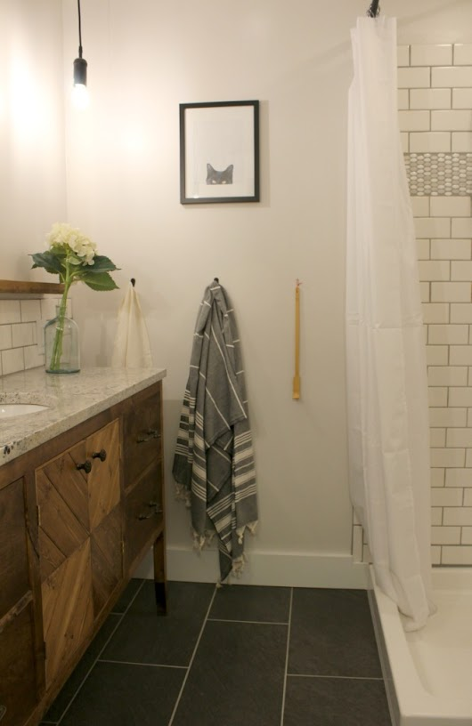 The Master Bathroom Remodel--Final Reveal