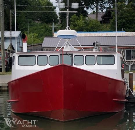1980 50 X 17 6 X Great Lakes Commercial Fishing Vessel Used Boat For Sale 1980 Theyachtmarket