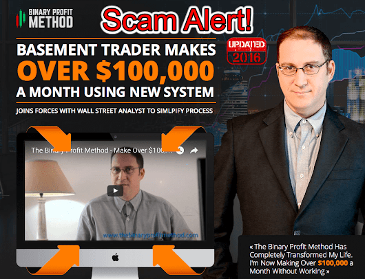 Binary Profit Method Review - 100% Scam Software! Avoid It!