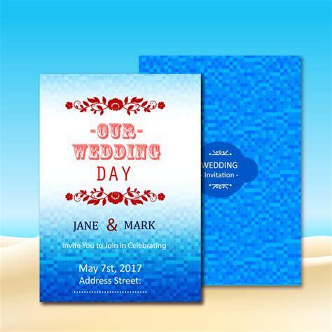 Wedding invitation background free vector download (46,388