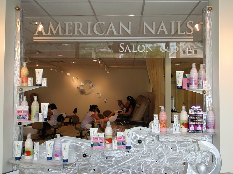 nail salon designer and artist Tony Viscardi designs nail salons