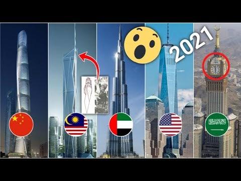 10 Pencakar Langit Tertinggi di Dunia 2021/2022