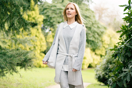 Step Into Spring with Grey Pastels - Keeping it Fabulous