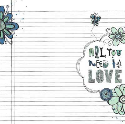 Bo Bunny Zip-A-Dee Doodle Journal