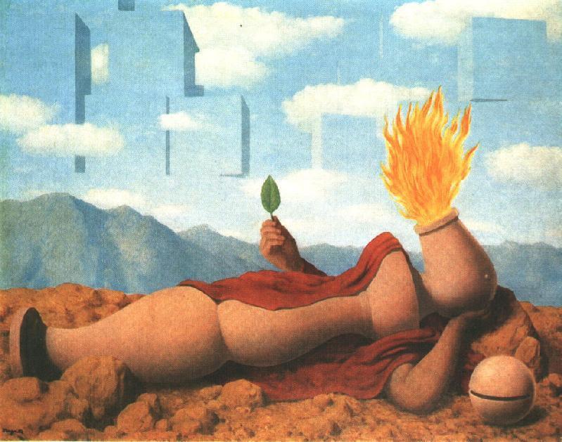 Elementary cosmogony, 1949 Rene Magritte