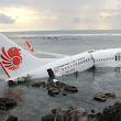 Plane Crashes Into Sea in Bali, Indonesia