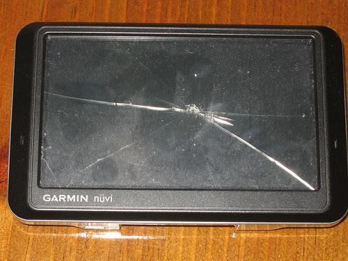 Screen Damage
