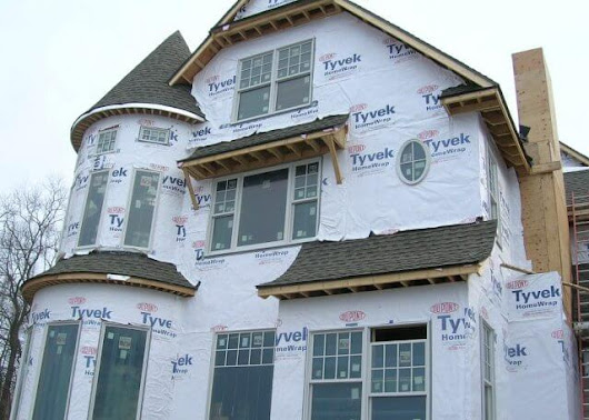 What Is That Plastic Wrap On The Outside Of New Homes? - K&P Roofing, Siding, & Home Improvement