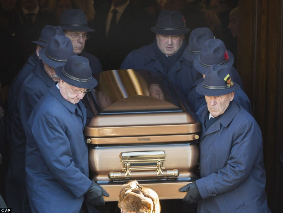 Vito Rizzutto's death has left a huge void at the top of Montreal's Mafia with police investigators in the Canadian city waiting to see who will make the first claim to succeed the 67-year-old 'godfather'
