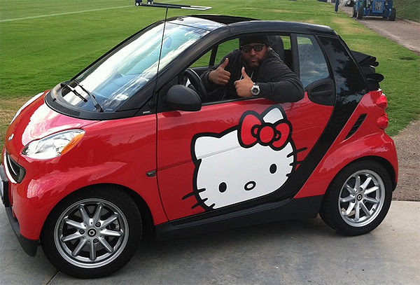Antonio Garay: The nose tackle who drives a Hello Kitty smart car