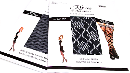 Lingerie Review: Kix'ies Thigh High Stockings - Backwoods Bedroom