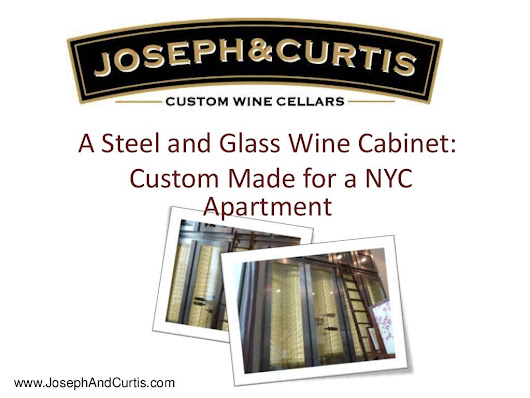 Custom Wine Cabinet Project - A Steel and Glass Modern Cabinet by J...