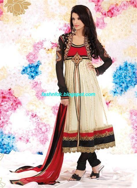 Bridal Anarkali Wedding Fancy Frocks Collection 2013