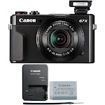 Canon PowerShot G7 X Mark II 20.3MP Wifi / NFC Point and Shoot Digital Camera (Black)