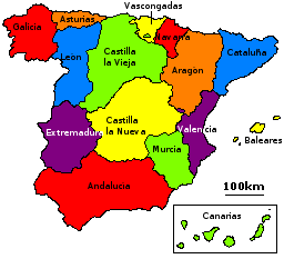 Filehistoric Regions Of Spain Labeled Png Wikimedia