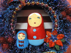 Matryoshka Wreath, Pollyanna's Fairytale! 6