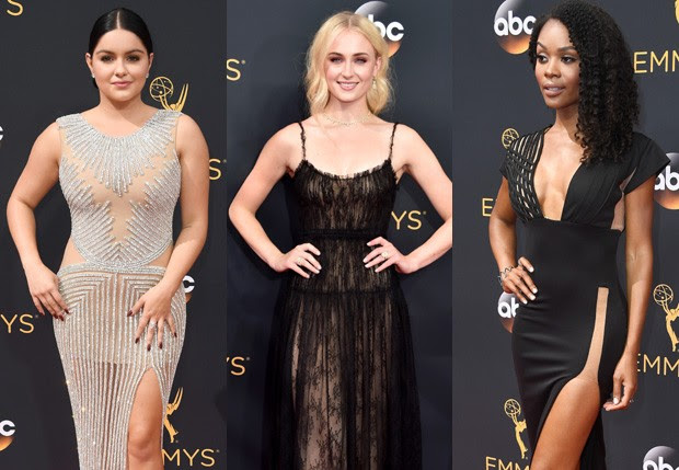 Ariel Winter, Sophie Turner e Zuri Hall (Foto: Getty Images)