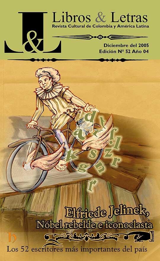 Diseño de portada para Libros y Letras