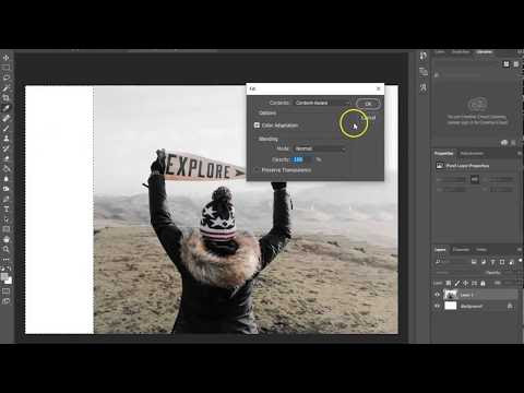 Adobe Photoshop Content-Aware Fill Majic!