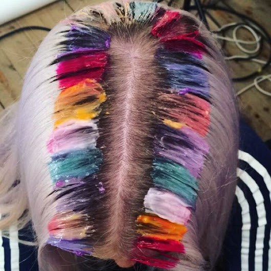Rainbow Roots Is the Coolest Hair Trend We've Ever Seen | Teen Vogue