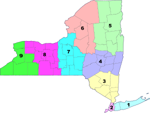 Map of regional administrative divisions of Ne...