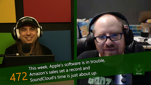 July 16, 2017 - Episode 472 - F5 Live: Refreshing Technology - Show Notes - PLuGHiTz Live
