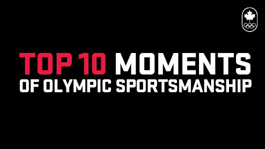Top 10 Moments of Olympic Sportsmanship