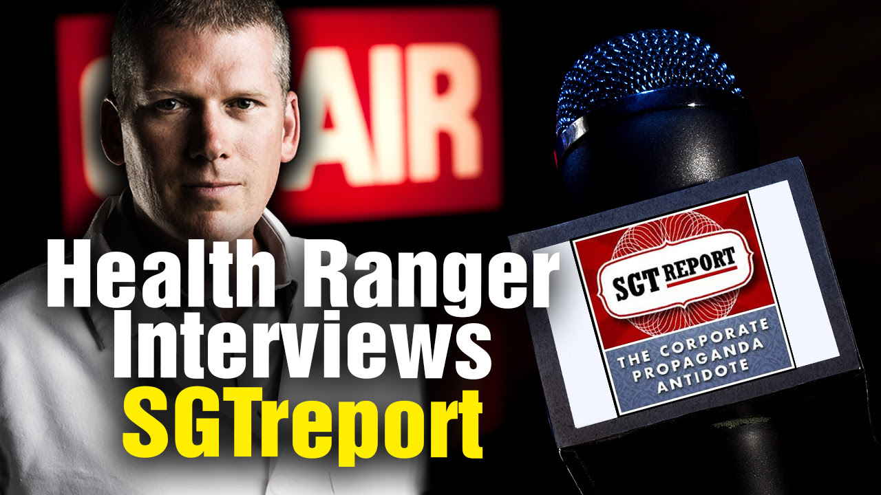 Image: Health Ranger interview with SGT Report reveals independent media's pushback against Google censorship and YouTube demonetization