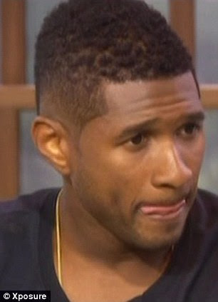 Missing him: Usher spoke about the tragic death of his stepson Kile