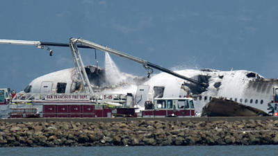 Asiana Airlines crash: Passengers taken to hospitals, SFO closed