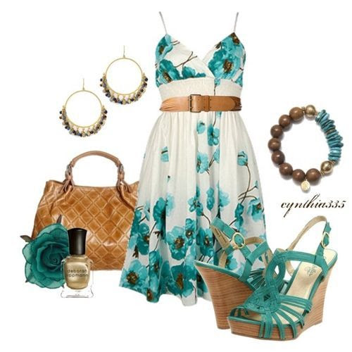 Sundress (girls,dress,girl,fashion,style,clothes,polyvore,our picks)