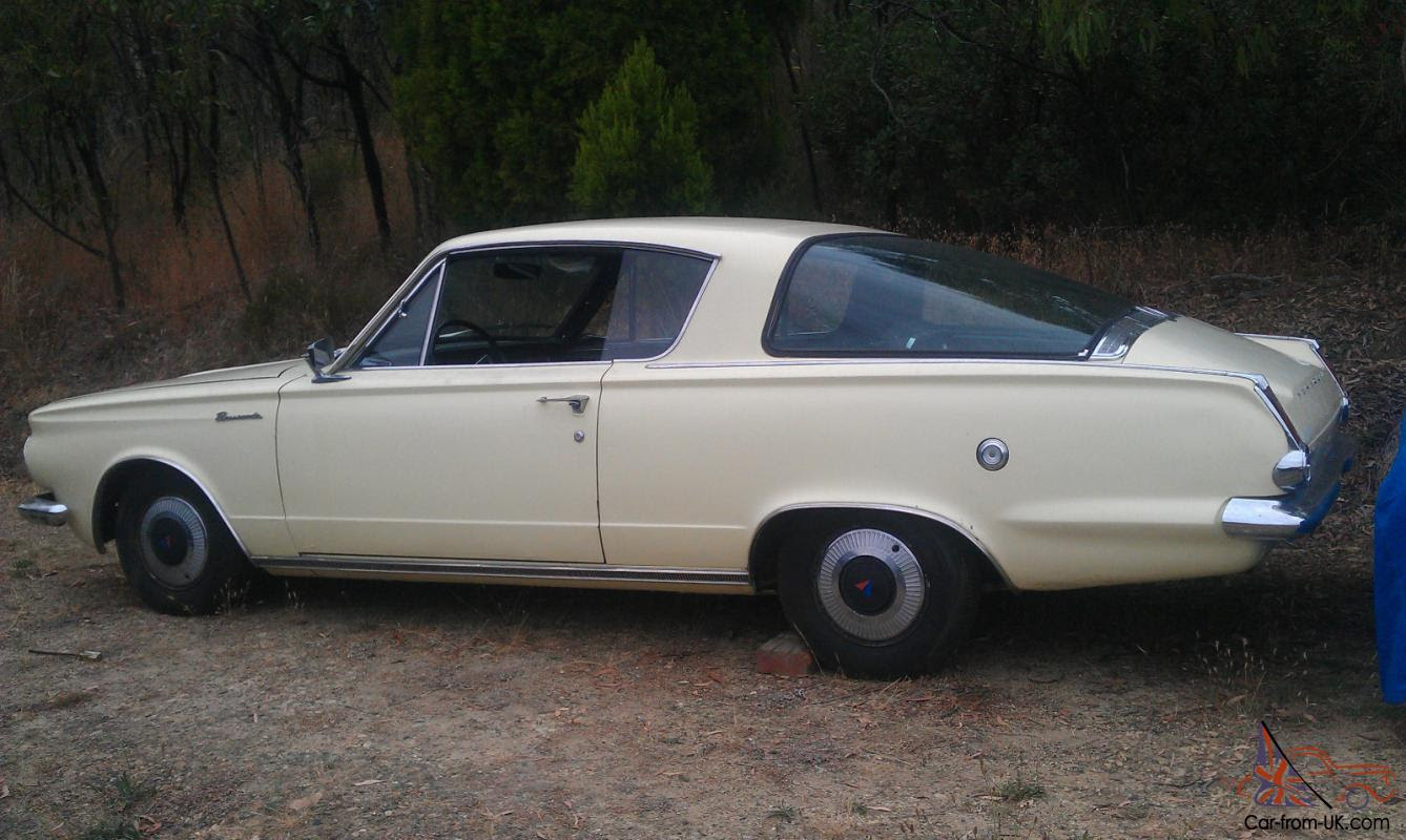 1965 Plymouth Barracuda Fastback CQQL LHD Great FOR Under 21 WHO CAN ...