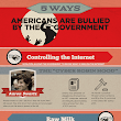 Five Ways Americans are Bullied by the Government [Infographic]