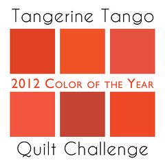 Tangerine Tango Quilt Challenge