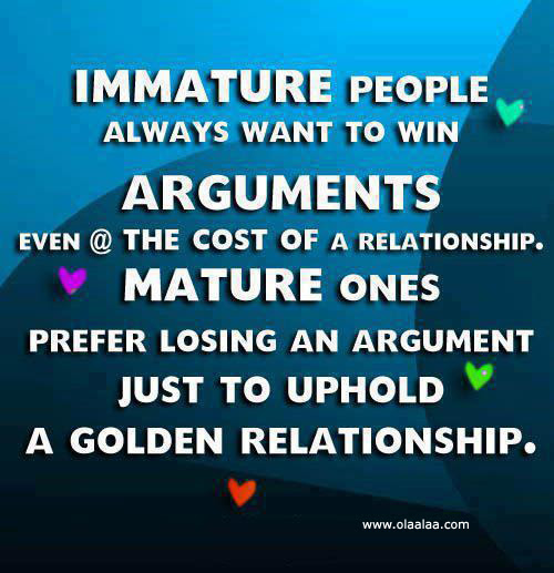 Quotes About Immature People 29 Quotes