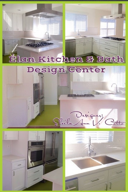 Venice, CA - Contemporary - Kitchen - los angeles - by Elan Kitchen & Bath Design Center, LLC