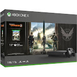 Microsoft Xbox One X Tom Clancy's The Division 2 Bundle - 1 TB - Black