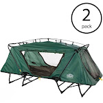 Kamp-Rite Oversized Tent Cot Folding Outdoor Camping Bed for 1 Person (2 Pack) by VM Express