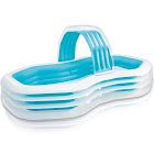 "Intex Family Cabana Swim Center Pool, 122"" x 74"" x 51"""