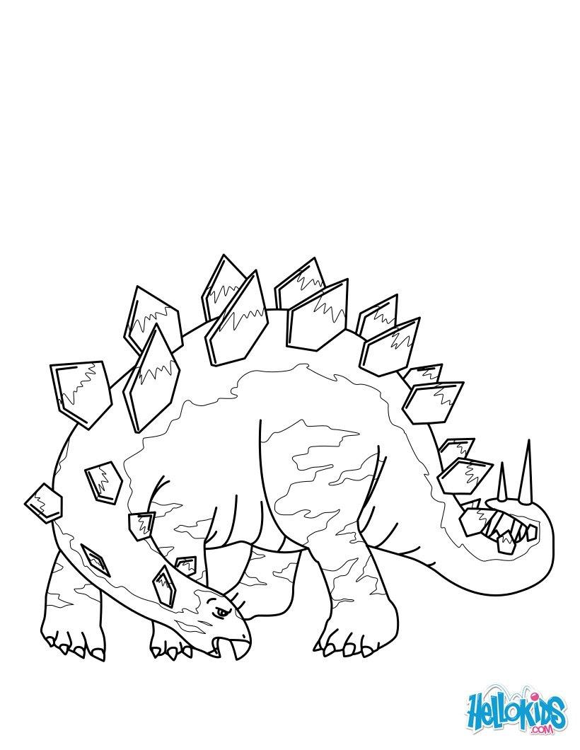 Stegosaurus zum Ausdrucken Pteranodon