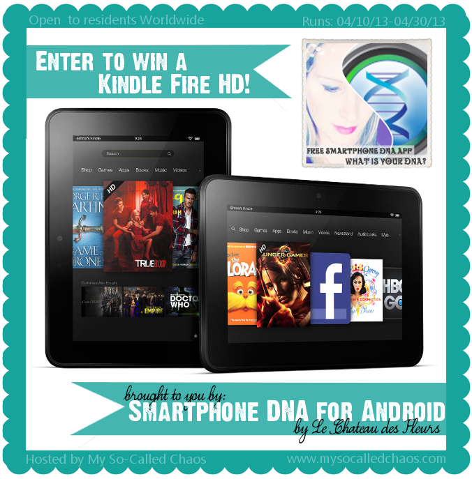 Kindle Fire HD Giveaway, Smartphone DNA, Win a Kindle Fire HD
