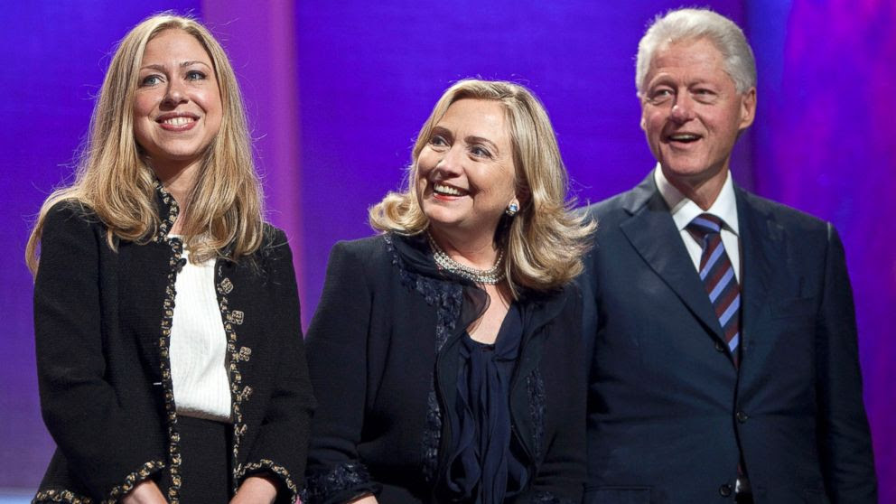 Image result for THE CLINTONS