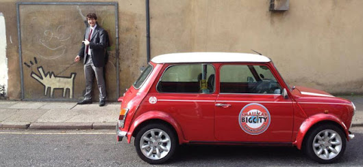 #LoveLondon: Small car, big city - Red Letter Days Blog