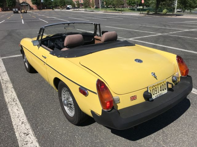 1980 MGB Including Overdrive & New Tires on Wire Wheels