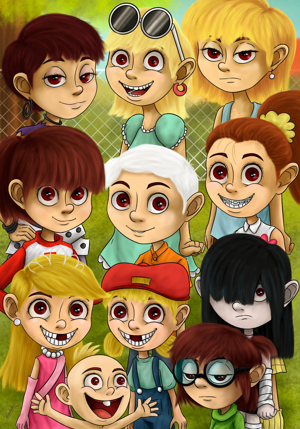 The Loud House by Parasomnico on DeviantArt