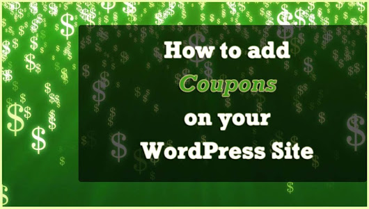How to add Coupons to your WordPress site - WPOven Blog