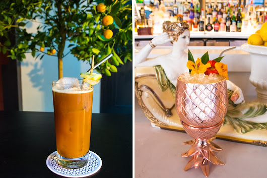 Not One, but Two Cocktails from Mario Batali's Newest Restaurant