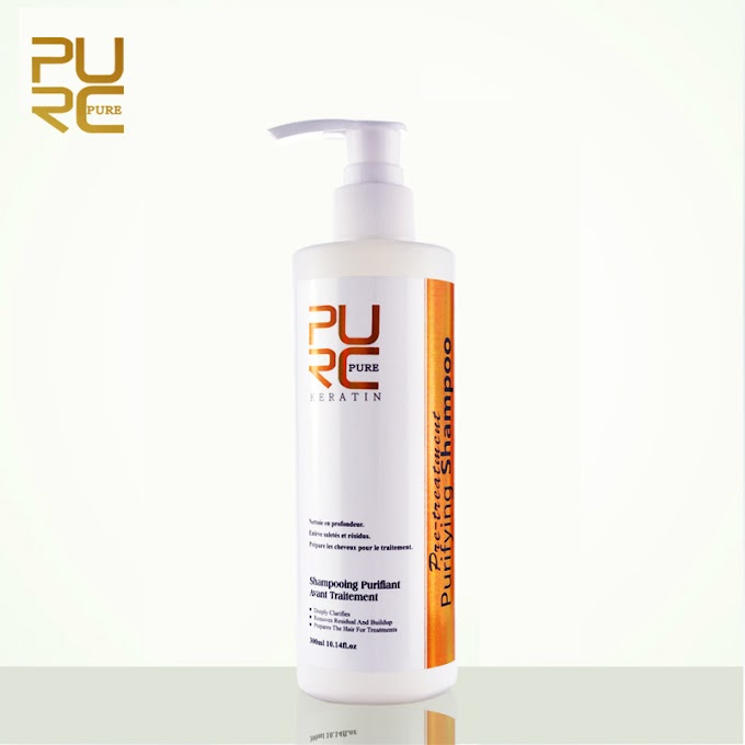 Aliexpress.com : Buy PURC Purifying Shampoo 300ml Keratin Hair Treatment Deep Cleansing Hair